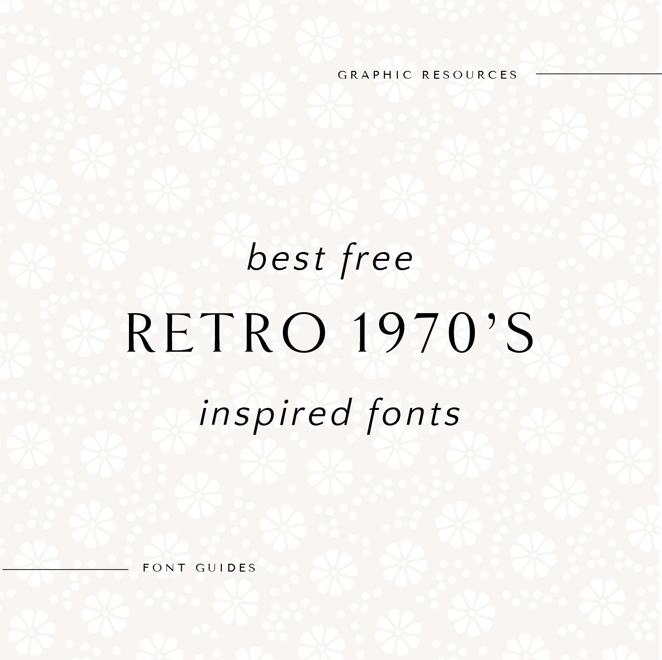 The Best Free Retro 1970's Inspired Fonts