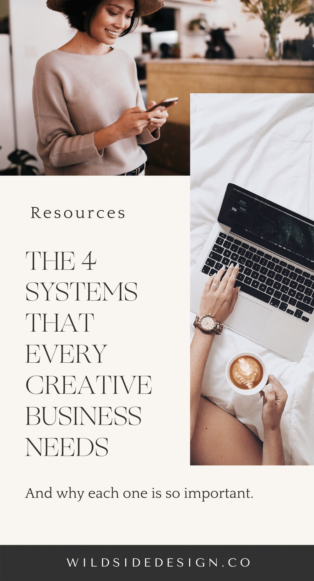 The 4 Systems You Need to Run Your Creative Business